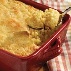 Corn Pudding Recipe - Try this delicious, quick and reliable side dish for any night of the week.