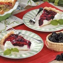 Blackberry Cheese Pie