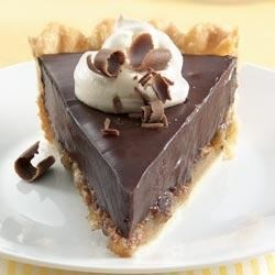 Chocolate Silk Pecan Pie Recipe - Try this chocolate pie recipe made with Pillsbury(R) refrigerated pie crusts from Pillsbury.