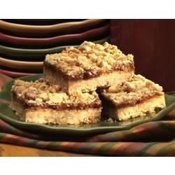 Fruited Oatmeal Bars Recipe - These nicely spiced chewy oat bars are a great fall or winter treat.