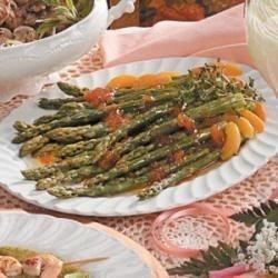 Apricot-Ginger Asparagus