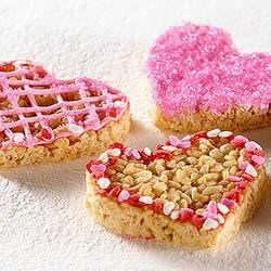 KELLOGG'S* RICE KRISPIES* Valentine Hearts