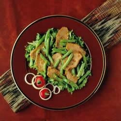 Pork and Red Chile Stir-Fry