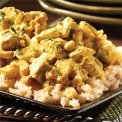 Turkey Curry with Cashews
