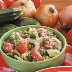 Zucchini Provencal