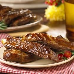 Apricot-Glazed Spareribs Recipe - While this is a perfect glaze for barbecuing ribs, you can also prepare this meal in the oven.