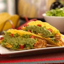 Slow Cooker Chicken Tacos Recipe - Slow cooked chicken tacos are easy to make and easy to love.