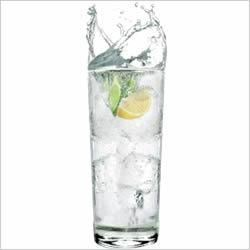 Electric 7UP Recipe - Gin and 7UP with a dash of Rose's Lime Juice is a crisp, and refreshing way to mix up your party.