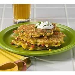 Southwest-Style Potato Pancakes