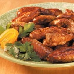 Orange-Glazed Chicken Wings