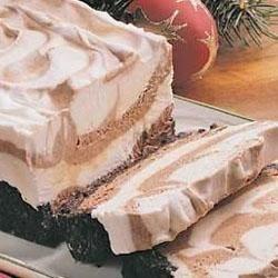 Frozen Mocha Marbled Loaf