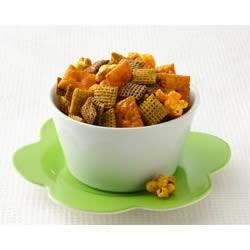 Chex(R)icago Party Mix Recipe - Whip up a batch of Chex(R) Mix reminiscent of the windy city's flavor combo of sweet and salty.