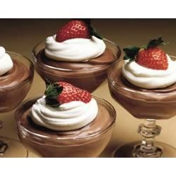 EAGLE BRAND(R) Quick Chocolate Mousse Recipe - This creamy chocolate mousse is ready in 10 minutes for a quick but elegant dessert.