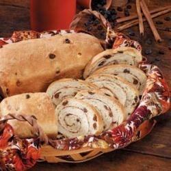 Cinnamon-Swirl Raisin Bread