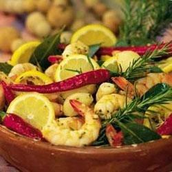 Garlic and Rosemary Shrimp