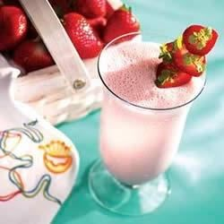 Strawberry Shake Recipe - A refreshing smoothie full of everyone's favorite fruit.