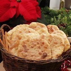 Bunuelos Recipe - Mexican fried sweet dough sprinkled with cinnamon sugar.