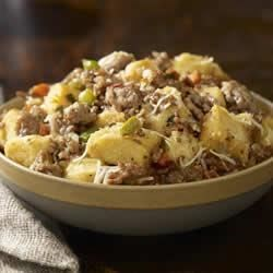 Traditional Italian Sausage Stuffing Recipe - A classic recipe with great texture and flavor!