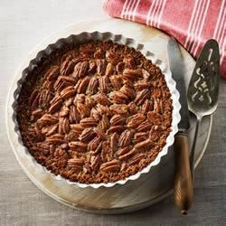 Shreddies Pecan Pie Recipe - The nutty toasty flavour of whole-grain Shreddies is a perfect match in this pie.