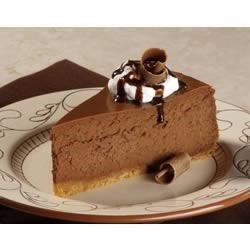 Chocolate Cheesecake Recipe - Creamy chocolate cheesecake is baked in a graham cracker crust. Perfect for special occasions.