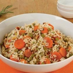 Veggie Pilaf with Pine Nuts