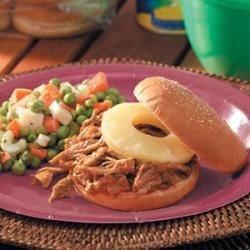 Teriyaki Pulled Pork Sandwiches