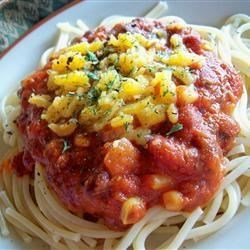 Southwestern Corn and Black Bean Spaghetti Recipe - This recipe, adapted to use the traditional flavors of Classico® Pasta Sauce, was originally submitted by Allrecipes home cook Lisa.