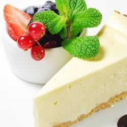 Creamy Yogurt Cheese Cake Recipe - This easy, versatile cheesecake with creamy, Greek yogurt will brighten any special occasion.