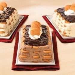 Eclair Dessert: Make It Your Way Recipe - Alternate layers of NILLA Wafers and creamy filling--using your favorite flavors--make an easy but elegant dessert.