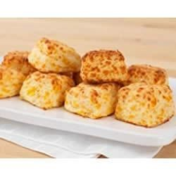 Easy-Bake Cheddar Biscuits Recipe - These easy, cheesy, biscuits bake up tender and delicious.