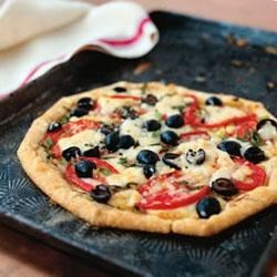 Lindsay olive and brie pizza pie recipe - Pizza roma dijon ...