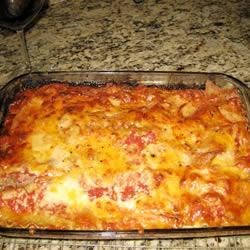 Best Lasagna with Zucchini Recipe - This recipe, adapted to use the traditional flavors of Classico® Pasta Sauce, was originally submitted by Allrecipes home cook Kristen.