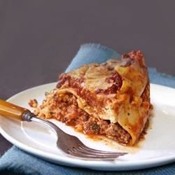 Slow-Cooker Lasagna Recipe - Have all the flavors you love in homemade lasagna without the fussy preparation and baking. This easy version is assembled in your slow cooker, and simmers for hours while you do other things.