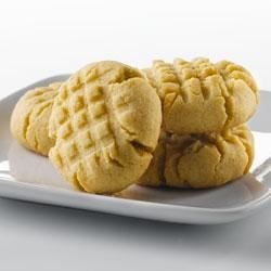 Peanut Butter Cookies with Truvia(R) Baking Blend Recipe - These classic peanut butter cookies are tender, fulfilling and simple to make. Made with Truvia(R) Baking Blend, these cookies have 70% less sugar* than the full sugar version.