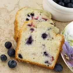 Dannon Blueberry Coffee Cake Recipe - Your coffee or tea break becomes a special event with this moist, delicious blueberry coffee cake.