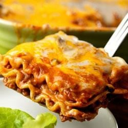 Mexican Lasagna by Campbell's Kitchen Recipe - What a great idea . . . combine tacos and lasagna into one delicious dish.  Your family is just going to love this!