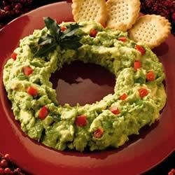 Avocado Wreath