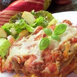 Fabulous Lasagna Recipe - This recipe, adapted to use the traditional flavors of Classico® Pasta Sauce, was originally submitted by Allrecipes home cook CHEFSTACIE.