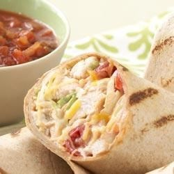 Baja Grilled Chicken Wrap