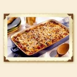 Chili Mac Recipe - Add a little spice to this comfort food favorite, by sprinkling on Sargento Shredded Reduced Fat 4 Cheese Mexican Cheese. Ole!