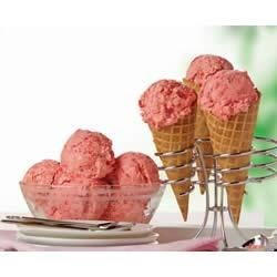 Easy Raspberry Sorbet Recipe - Raspberry-lemon sorbet is a refreshing treat on a summer day.
