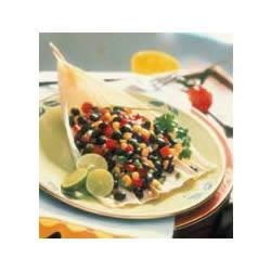 Black Bean, Corn and Red Pepper Salsa