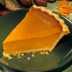 Awesome Pumpkin Pie