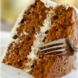 Carrot Cake with Maille(R) Old Style Mustard Recipe - Miniature carrot cakes are packed with walnuts, raisins, and carrots, and topped with a lemony icing.