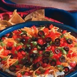 Scrumptious 5-Layer Mexican Dip