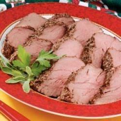 Peppered Beef Tenderloin