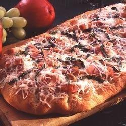Cheese and Prosciutto Focaccia