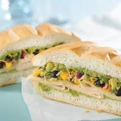 Mexican Turkey Tortas