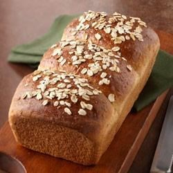 Cracked Wheat and Oat Bread