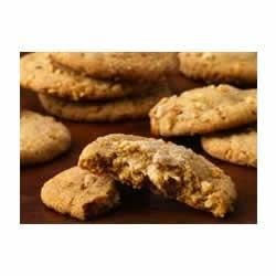 Double-Delight Peanut Butter Cookies Recipe - Wonderful peanut flavor abounds in these easy champion cookies!